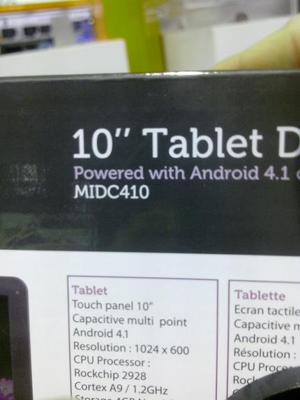 tablette tactile 10 pouces leclerc valdiz. Black Bedroom Furniture Sets. Home Design Ideas