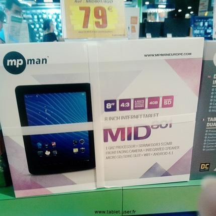 Mpqc 804 hd mpqc974 mid801 chez leclerc tablet user - Tablette tactile leclerc prix ...