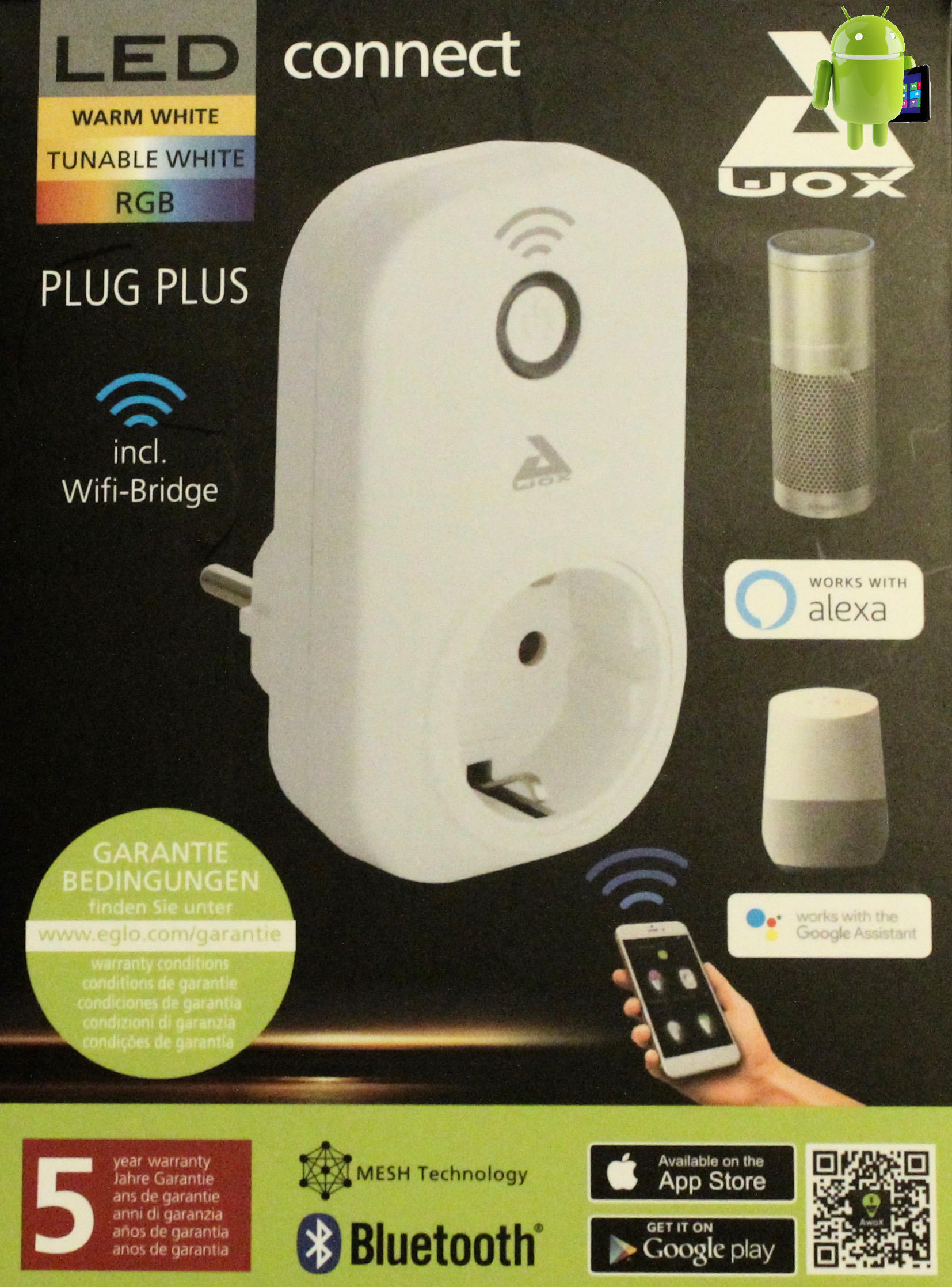 User PlusTablet Eglo Awox Connect Plug 6IyvY7bmfg