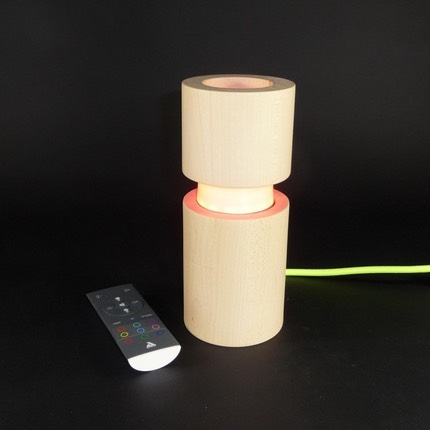 lampe-design-en-bois-connectee-bluetooth-musyca-cylindrique-color